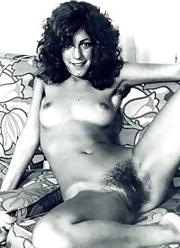 Vintage women with hairy armpits