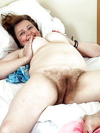 Mature Grannies with Hairy cunts!