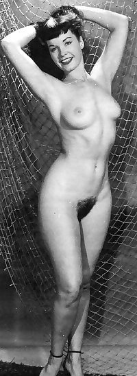Betty page 1950s pin up babe