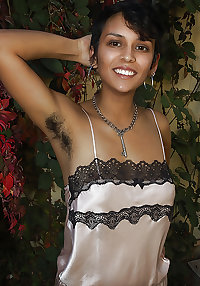 Indian hairy armpits