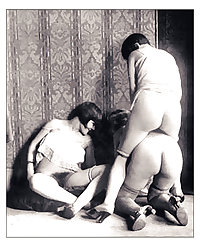 old vintage sex - Monseuer X - french brothel