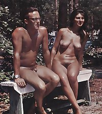 Retro Nudist fun