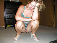 heels shoes feet upskirt hairy pussy - schuhe nylon