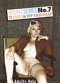 Mini Series #7 - Vintage Porno Magazine