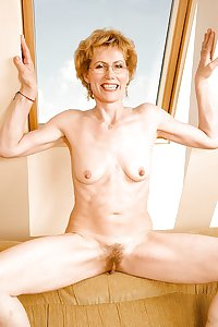 Hairy Granny Ina from OlderWomanFun