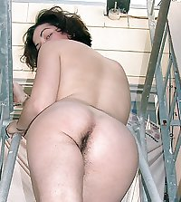Girl with hairy ass 5