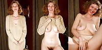 Dressed - Undressed Hairy Women Part 16