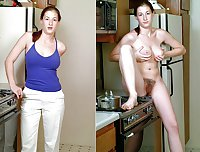 Dressed - Undressed Hairy Women Part 16