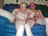 Hairy, Fat , Granny