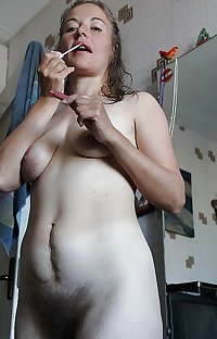 Collection of women with hairy pussy 4