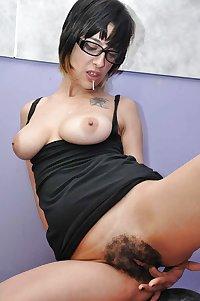 Hairy girls and women 12