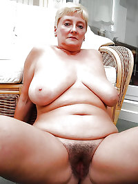 Mature Hairy cunts! Amateur mix!