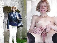 Clothed and Nude 23 Hairy Pussy