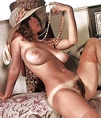 VINTAGE TANLINES: GREAT TITS & HAIRY PUSSY
