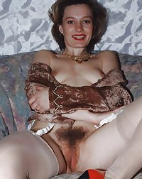 Hairy Milf Pussy