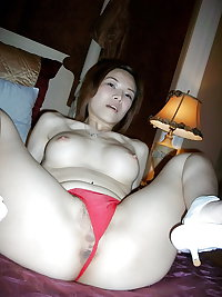 Amateur Asian Slut with Hairy Pussy