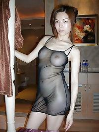 Amateur Asian Slut with Hairy Pussy