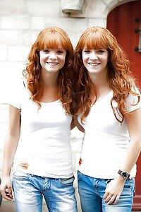Redhead redheads natural hairy Shelovesit54
