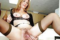 Beautiful Hairy Pussy Spread by TROC