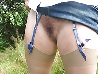 Hairy Panties & Nylons #1